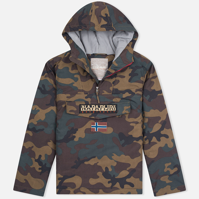 Napapijri Rainforest Men's Anorak Pattern Camo