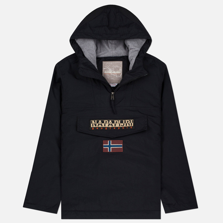 Napapijri Rainforest Winter Men's Anorak Jacket Black