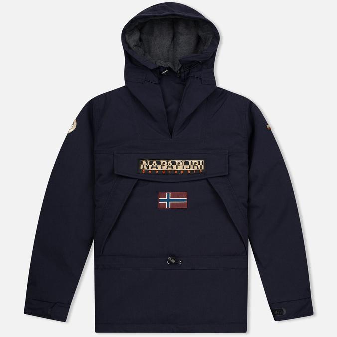 Мужская куртка анорак Napapijri Skidoo Blue Marine