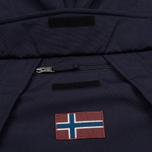 Мужская куртка анорак Napapijri Skidoo Blue Marine фото- 2