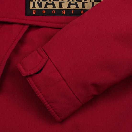 Мужская куртка анорак Napapijri Skidoo Old Red