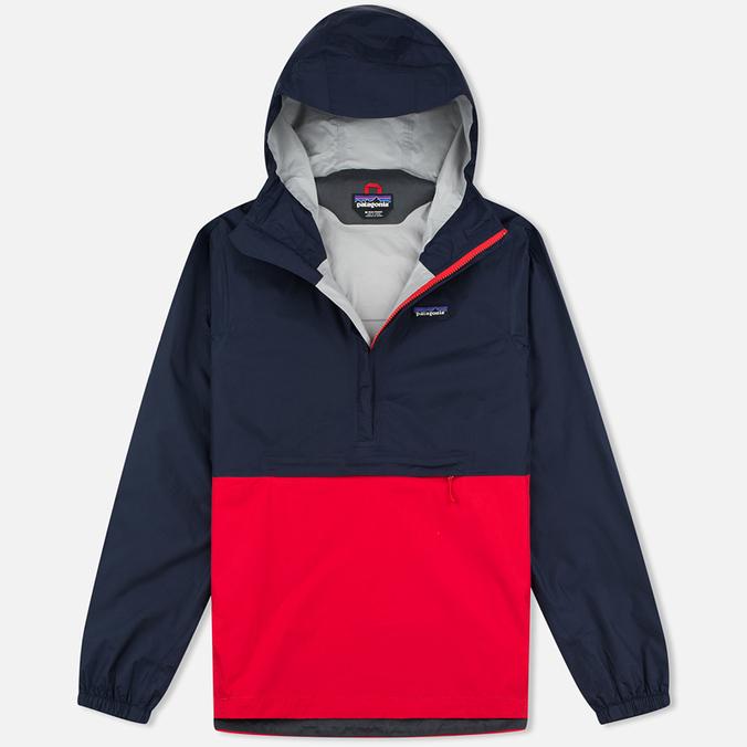 Мужская куртка анорак Patagonia Torrentshell Pullover Navy Blue
