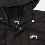 Мужская куртка анорак Stussy Ripstop Pullover Black фото- 1