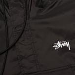 Мужская куртка анорак Stussy Ripstop Pullover Black фото- 3