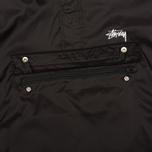 Мужская куртка анорак Stussy Ripstop Pullover Black фото- 4
