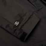 Мужская куртка анорак Stussy Ripstop Pullover Black фото- 5