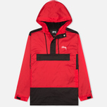 Stussy Ripstop Pullover Men's Anorak Red photo- 0
