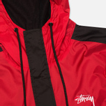 Stussy Ripstop Pullover Men's Anorak Red photo- 2