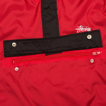 Stussy Ripstop Pullover Men's Anorak Red photo- 4