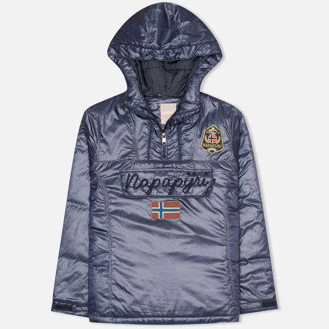 Женская куртка анорак Napapijri Rainforest Print Check