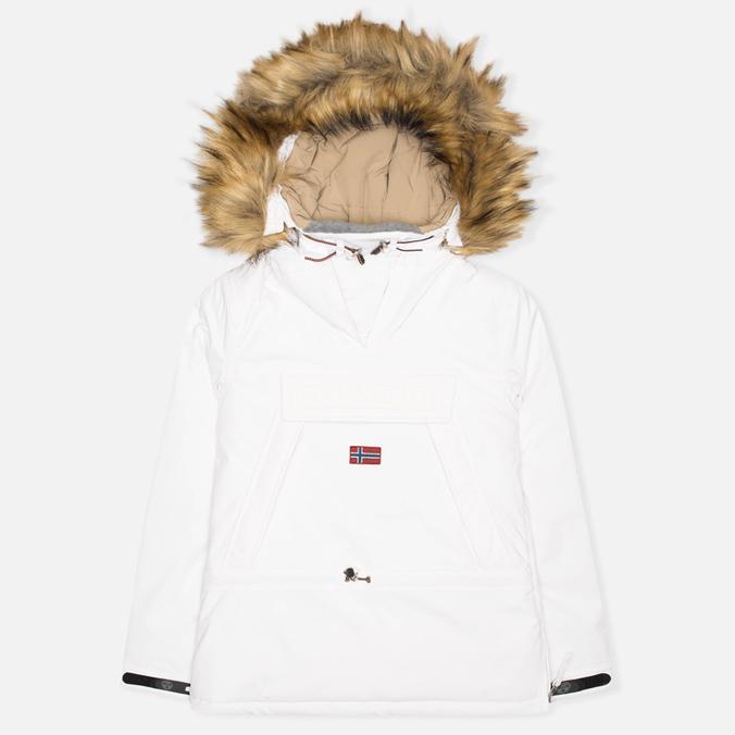 Женская куртка анорак Napapijri Skidoo EF White