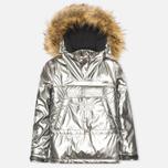Женская куртка анорак Napapijri Skidoo Paint Silver фото- 0