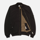 Мужская куртка бомбер C.P. Company MA-1 Black фото- 1