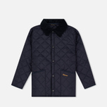 Детская стеганая куртка Barbour Liddesdale Quilted Navy фото- 0