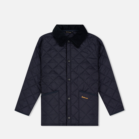 Детская стеганая куртка Barbour Liddesdale Quilted Navy