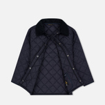 Детская куртка Barbour Liddesdale Quilted Navy фото- 1