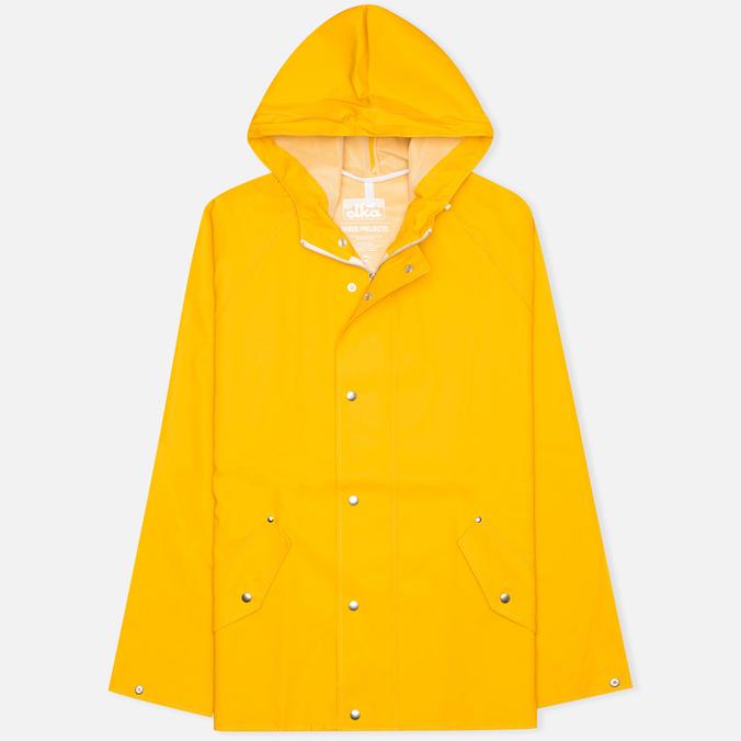 Мужская куртка дождевик Norse Projects x Elka Anker Mustard Yellow