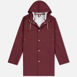 Мужская куртка дождевик Stutterheim Stockholm Burgundy фото- 0