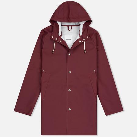 Мужская куртка дождевик Stutterheim Stockholm Burgundy