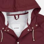 Мужская куртка дождевик Stutterheim Stockholm Burgundy фото- 2