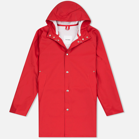 Мужская куртка дождевик Stutterheim Stockholm Red