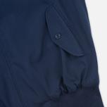 Мужская куртка харрингтон Fred Perry Laurel Made in England Navy фото- 6