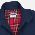 Мужская куртка харрингтон Fred Perry Laurel Made in England Navy фото- 2