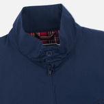 Fred Perry Laurel Made in England Men's Harrington Jacket Navy/Ice photo- 3