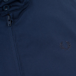Fred Perry Laurel Made in England Men's Harrington Jacket Navy/Ice photo- 4