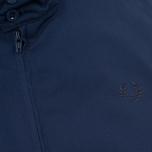 Мужская куртка харрингтон Fred Perry Laurel Made in England Navy фото- 4