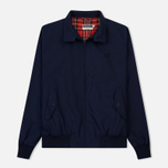 Мужская куртка харрингтон Fred Perry Laurel Made in England Navy фото- 0