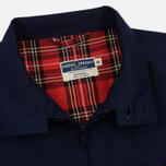 Мужская куртка харрингтон Fred Perry Laurel Made in England Navy фото- 3