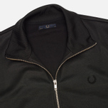 Fred Perry Laurel Tricot Men's Harrington Jacket Black photo- 1