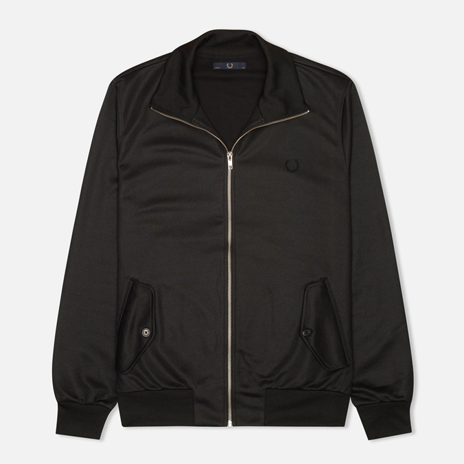 Fred Perry Laurel Tricot Men's Harrington Jacket Black