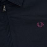 Fred Perry Caban Men's Jacket Navy photo- 3