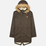 Мужская куртка парка Fred Perry SH Lined Wax Wren фото- 0