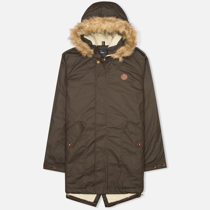 Мужская куртка парка Fred Perry SH Lined Wax Wren