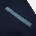 Мужская куртка бомбер Maison Kitsune Teddy Navy/Grey фото- 4