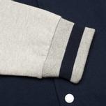 Мужская куртка бомбер Maison Kitsune Teddy Navy/Grey фото- 5