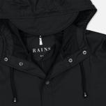 Мужская куртка дождевик Rains Long Jacket Black фото- 2