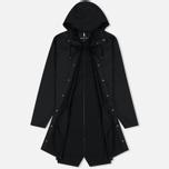Мужская куртка дождевик Rains Long Jacket Black фото- 1