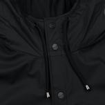 Мужская куртка дождевик Rains Long Jacket Black фото- 3
