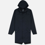 Мужская куртка дождевик Rains Long Jacket Blue фото- 0