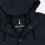 Мужская куртка дождевик Rains Long Jacket Blue фото- 2