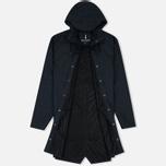 Мужская куртка дождевик Rains Long Jacket Blue фото- 1