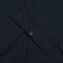 Мужская куртка дождевик Rains Long Jacket Blue фото- 5