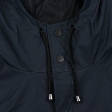 Мужская куртка дождевик Rains Long Jacket Blue фото- 3