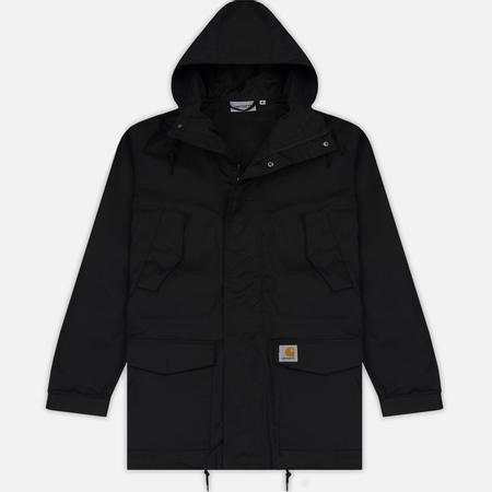 Мужская куртка парка Carhartt WIP Battle 5.5 Oz Black
