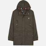 Fred Perry Portwood Men's Parka Anthracite photo- 0