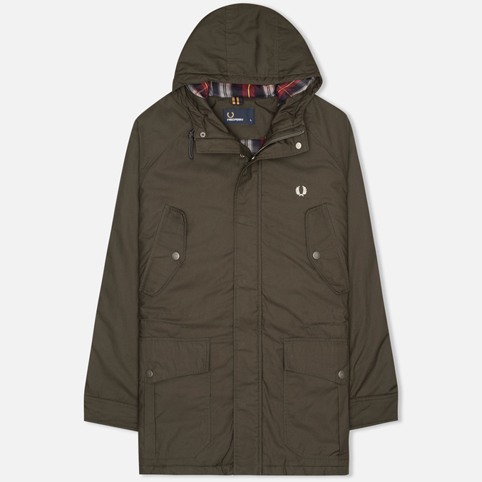 Fred Perry Portwood Men's Parka Anthracite